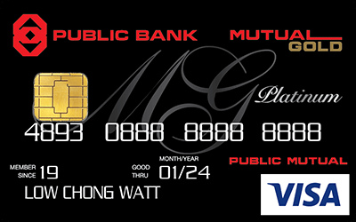 Mutual Gold Public Bank Visa Platinum