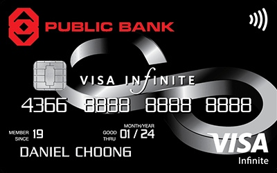 Public Bank Visa Infinite