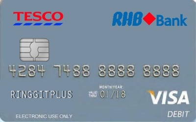 Tesco RHB Debit Card credit card