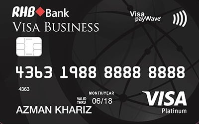RHB Platinum Business Visa