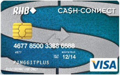 RHB My Cash-i Visa Debit Card credit card