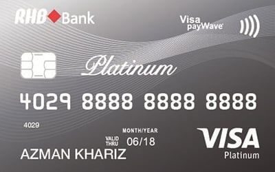 RHB Platinum Visa credit card