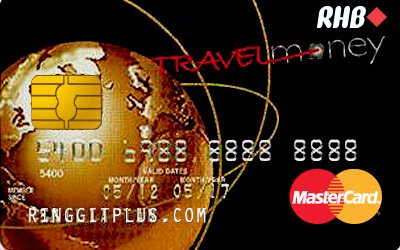 RHB Travel Money MasterCard credit card