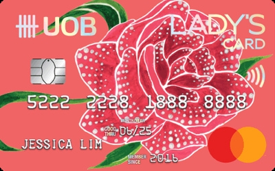 UOB Lady's MasterCard credit card
