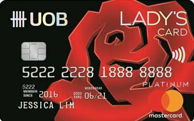 Uob Lady S Platinum Mastercard 10x Unirm On Weekend