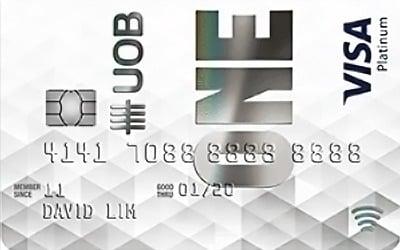 Uob One Visa Platinum 5 Unlimited Cashback