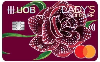 Uob Lady S Solitaire Mastercard 10x Uniringgit Points
