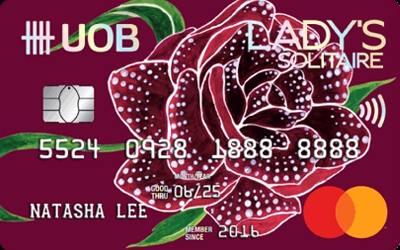 UOB Lady's Solitaire MasterCard credit card