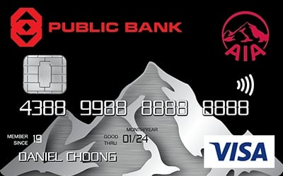 Public Bank AIA Visa Gold