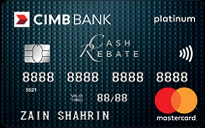 CIMB Cash Rebate Platinum MasterCard credit card