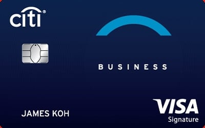 Citi Business Signature Card - 8.8% Cashback!
