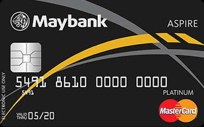 Maybank ASPIRE MasterCard Platinum Debit Card credit card