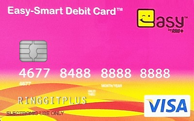 RHB Easy-Smart Debit Card credit card