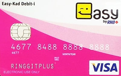 RHB Easy-Debit Card-i credit card