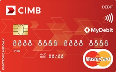 CIMB Islamic Debit MasterCard credit card