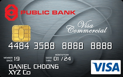 Public Bank Visa Commercial
