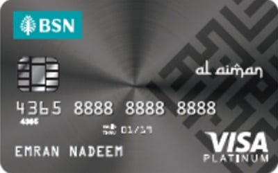 BSN Platinum Visa Credit Card-i