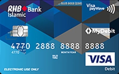 RHB Islamic Debit Card-i credit card