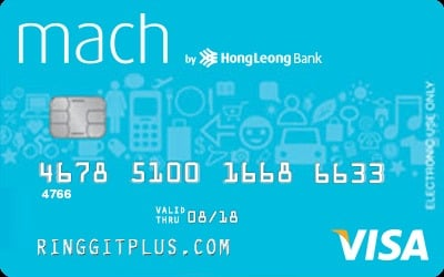 Hong Leong Mach Debit Card credit card