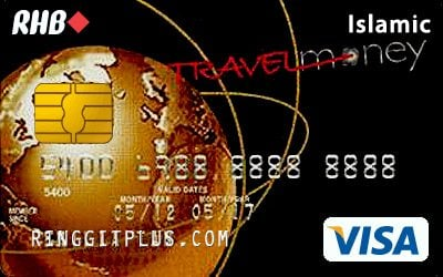 RHB Travel Money Credit Card-i credit card
