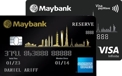 Maybank 2 Cards Premier credit card