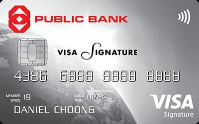 Public Bank Visa Signature