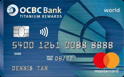 OCBC MasterCard Blue credit card