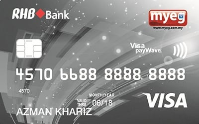 MyEG-RHB Credit Card