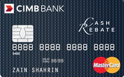 CIMB Cash Rebate Gold MasterCard credit card