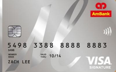Ambank M Signature Visa Card For The Ladies