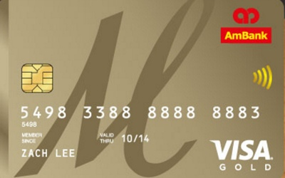 AmBank M-Gold Visa Card credit card