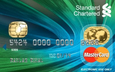 Standard Chartered MasterCard Debit Card credit card