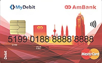 AmBank Debit MasterCard credit card
