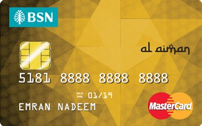 BSN Gold MasterCard Credit Card-i