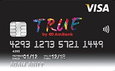 AmBank TRUE VISA Credit Card credit card