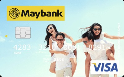 Maybank Visa Debit Picture Card credit card