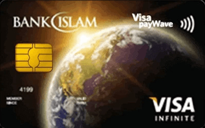 Bank Islam Infinite Visa Credit Card-i credit card