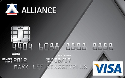 Alliance Bank Visa Basic credit card
