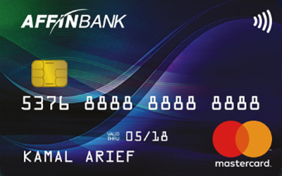 Affinbank MasterCard Basic credit card