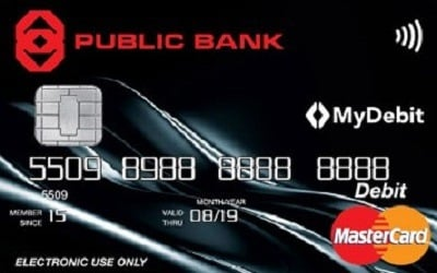Public Bank MasterCard Lifestyle Debit Card credit card