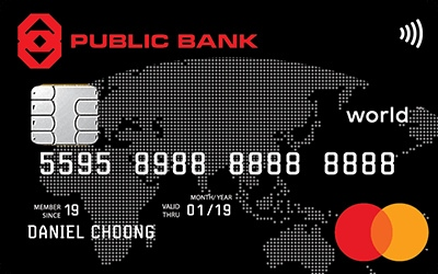 Public Bank World MasterCard Credit Card credit card