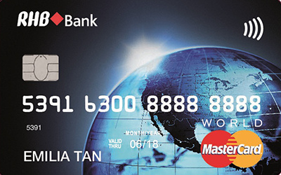 RHB World MasterCard Credit Card credit card