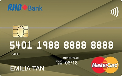 RHB Smart Value MasterCard credit card