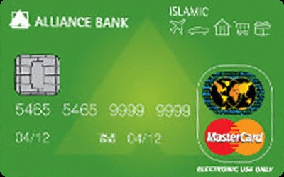 Alliance Islamic Junior Debit Card-i credit card
