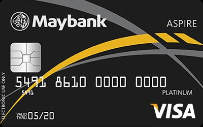 Maybank ASPIRE Visa Platinum Debit Card credit card