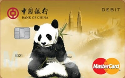 Bank of China Malaysia Great Wall International Debit Card credit card