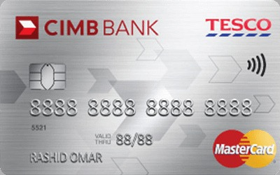 CIMB Tesco Platinum MasterCard credit card