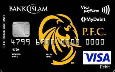 Bank Islam Visa Debit Card-i Pahang FA credit card