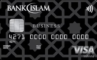 Bank Islam Visa Infinite Business Credit Card-i credit card
