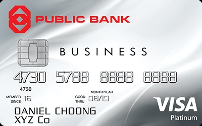 Public Bank Visa Business